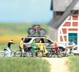 BUSCH Zweirad-Set     H0