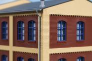 Auhagen Ecksäulen Obergeschoss gelb