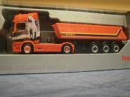 Herpa LKW Scania CR 20 HD Aerop. Kipp-SZ Mayolani 932202