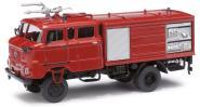 Busch Espewe LKW IFA W50 GMK rot