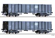 Tillig Güterwagenset der CTL Logistics (PL), 2 off Güterwagen Eaos, Ep. V 01797