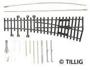 Tillig Weiche links 15° BS