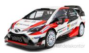 Toyota Yaris WRC - Microsoft - Rallye WM Monte Carlo 2017 No.5 Latvalla/Anttilla