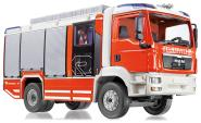 Wiking 1:43 MAN TG-M Feuerwehr Rosenbauer AT 043142