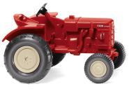 Wiking Traktor Fahr Schlepper rot 087705
