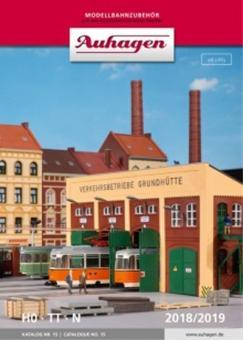 Auhagen Katalog Nr. 15 mit Neuheiten 2018 99615