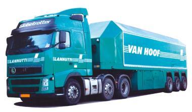 AWM LKW Volvo FH3 Glob.Aerop. Innenlader-SZ Van Hoof 83