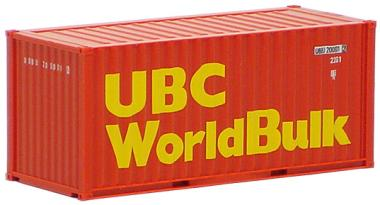 AWM SZ 20 ft Container UBC WorldBulk