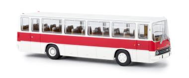Brekina Ikarus 255 Reisebus, weiß/verkehrsrot 59654