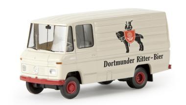Brekina MB L406D Kasten Dortmunder Ritter Bier 36827