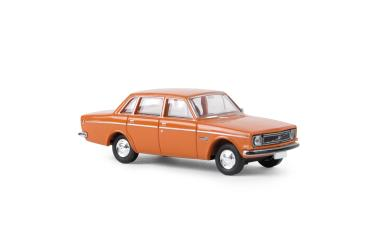 Brekina PKW Volvo 144, orange, TD 29414