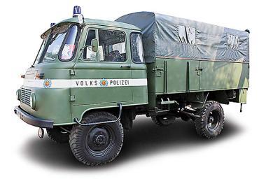 BUSCH LKW Robur LO 2002 A Volkspolizei, 1973