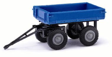 Busch Mehlhose Anhänger E-Karre, Blau H0 210009502