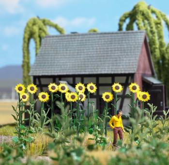 Busch Riesen-Sonnenblumen H0 1261