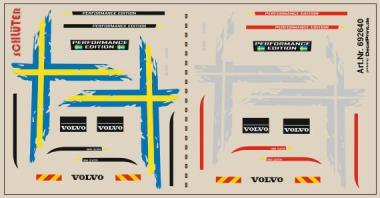 Decals für Truckdekor für Scania R gelb 6,8 x 4,6 cm