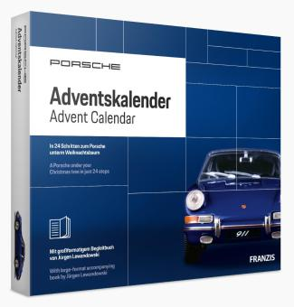 Franzis Verlag 1:43 Porsche 911 Adventskalender / Advent Calendar