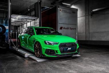GT Spirit 1:18 Audi ABT RS4+ - viper green