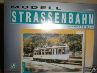 H & P 1:87 STRASSENBAHN Großer Hecht, Triebwagen