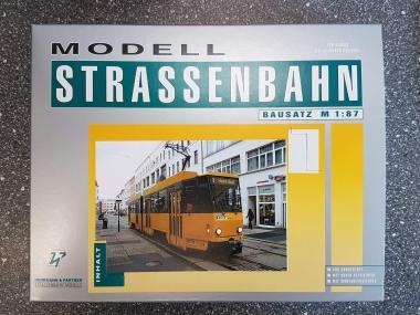 H & P 1:87 STRASSENBAHN TATRA KT4D Görlitz (gelb)