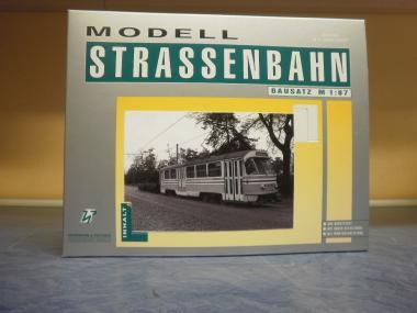H & P 1:87 STRASSENBAHN TATRA T4 Arbeitstriebwagen Dresden, grau