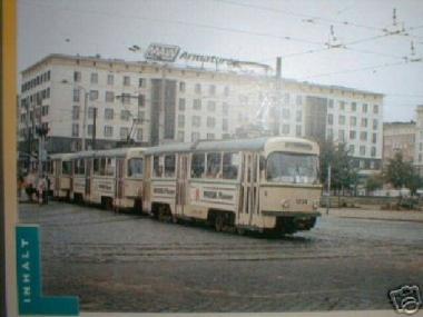 H & P 1:87 STRASSENBAHN TATRA T4/B4 Magdeburg