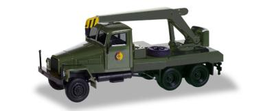 Herpa LKW IFA G5 Kranfahrzeug NVA 746281