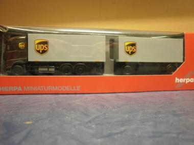 Herpa LKW MB Actros 11 Streamspace WKHZ UPS 308045