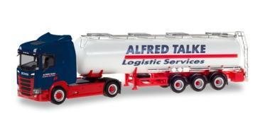 Herpa LKW Scania CR 20 ND Aerop. Chemie-Tank-SZ Alfred Talke 310383
