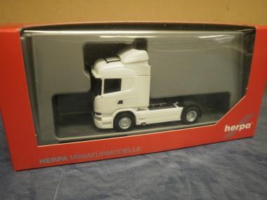 Herpa LKW Scania R 13 Highline SZM weiß 302838