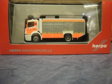 Herpa MB Axor Rüstwagen RW2,Feuerwehr Düsseldorf 094634