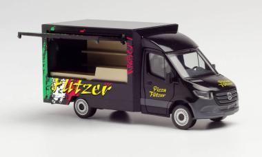 Herpa MB Sprinter '18 Verkaufswagen Pizza Flitzer 095884