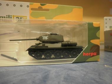 Herpa Minitanks Kampfpanzer T-34/85 4. Garde Panzerarmee Schlacht Berlin 745727