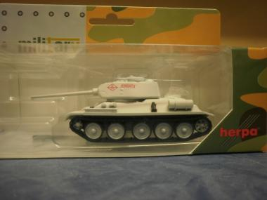 Herpa Minitanks Kampfpanzer T-34/85 Wintertarnung 745796