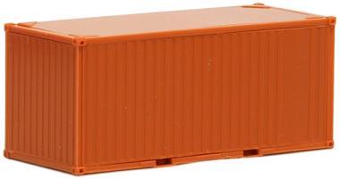 Herpa SZ 20 ft. Container gerippt rot-orange