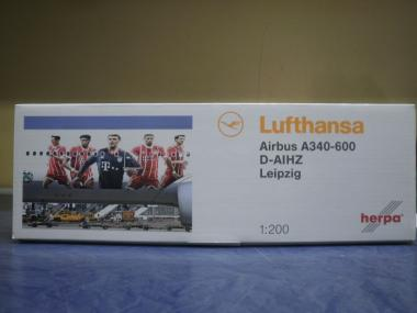 Herpa Wings 1:200 Airbus A 340-600 Lufthansa FC Bayern Tour 2017 558846