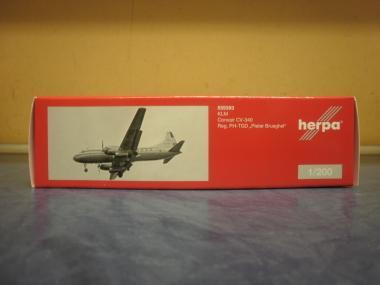 Herpa Wings 1:200 Convair 340 KLM Royal Dutch Airlines 559393