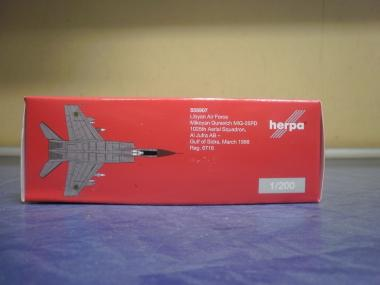Herpa Wings 1:200 MiG-25PDS Lybian Air Force Mikoyan Gurevich 558907