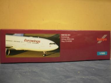 Herpa Wings 1:500 Airbus A330-200 Eurowings 528153
