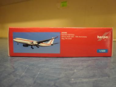 Herpa Wings 1:500 Airbus A330-300 Garuda Retro 533362