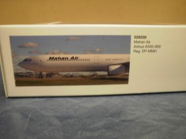 Herpa Wings 1:500 Airbus A340-600 Mahan Air 529228