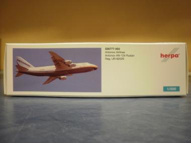 Herpa Wings 1:500 AN-124 Antonov Airl. UR-82029 526777