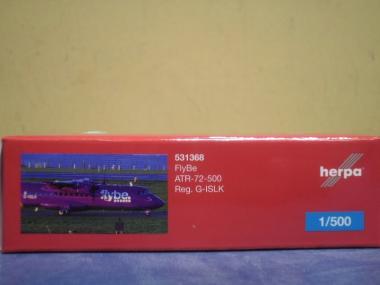 Herpa Wings 1:500 ATR-72 FlyBe 531368