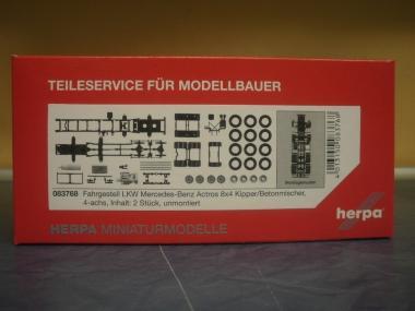 Herpa Z Zurüstteil FAG 4a MB 8x4 Baufahrzeuge