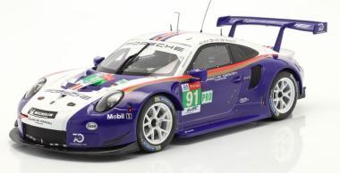IXO 1:18 Porsche 991 RSR #911 - Daytona 2018