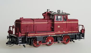 Kühn Diesellok V60) altrot, Epoche III