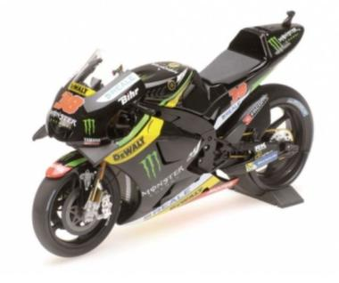 Minichamps 1:12 Yamaha YZR-M1 Monster Yamaha Tech3 Bradley Smith MotoGP 2016