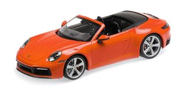 Minichamps 1:18 Porsche 911 (992) Carrera 4S - 2019 - orange