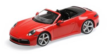 Minichamps 1:18 Porsche 911 (992) Carrera 4S - 2019 - red