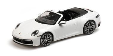Minichamps 1:18 Porsche 911 (992) Carrera 4S - 2019 - white