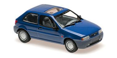 Minichamps 1:43 FORD FIESTA - 1995 - BLUE METALLIC